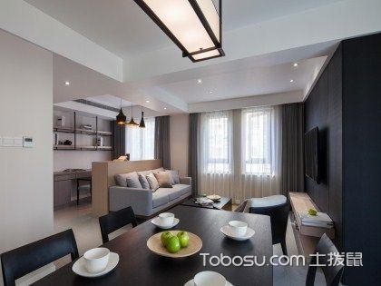 70平米老房改造三室一厅客厅大变样