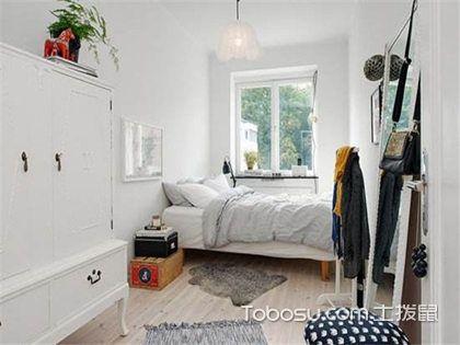 长方形卧室装修效果图,呈现不同设计风格