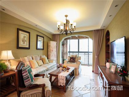 美式田园风格案例赏析:宜兴120平米房装修费用仅10万
