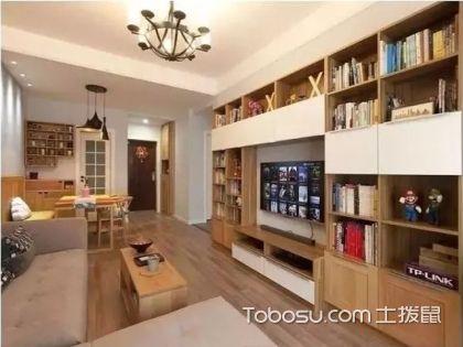 秦皇岛90平米房装修费用,10万元打造温暖原木风的两居室