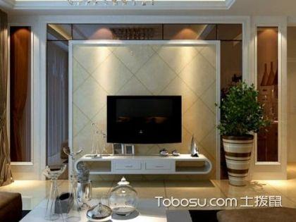如何让家变得大气?选择大气的瓷砖电视背景墙很重要!