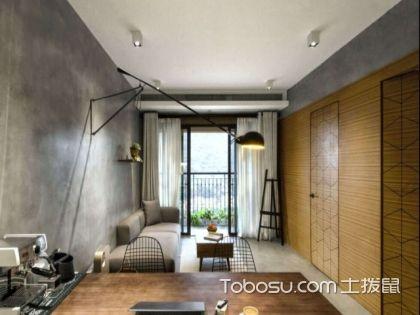 温州70平米房装修费用案例,高质感的北欧工业风