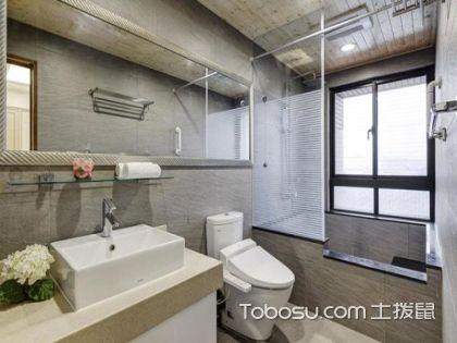 最详细的家装小知识:卫生间玻璃隔断墙的装修注意事项