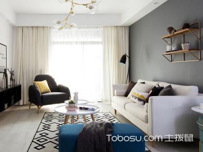 兰州120平米房装修费用仅10万,简约舒适家居值得拥有
