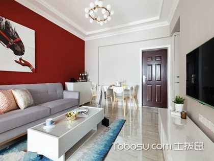 济南70平米房装修预算,8万打造唯美浪漫两居婚房