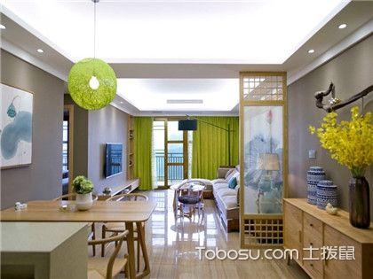 石家庄70平米房装修费用,15万打造典雅新中式