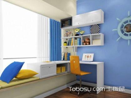 四种儿童房飘窗改书桌方案,让儿童房来个大变身