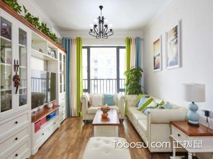 沈阳90平米房装修费用,15万元的美式中户型装修