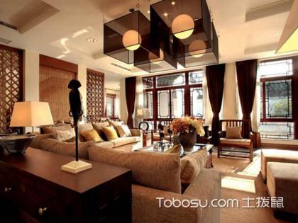 中式客厅混搭装修风格,惊艳时光之美