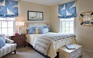 【地中海卧室装修】地中海卧室装修特点,地中海卧室装修家具,设计,图片
