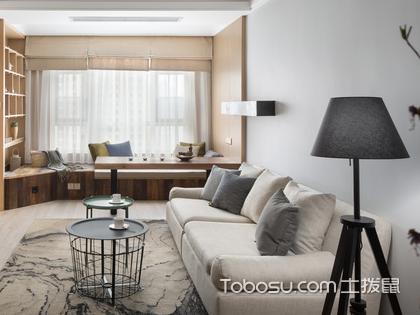 现代简约风装修案例:南昌70平米房装修费用