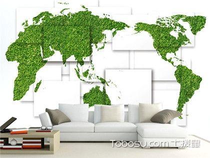 3D客厅背景墙设计效果图,立体的地图背景墙你看过没有?