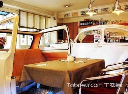 喜欢汽车主题餐厅的你,肯定是酷酷的