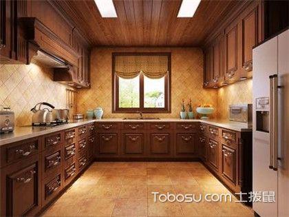 中式厨房装修效果图,美的让你睁不开眼!