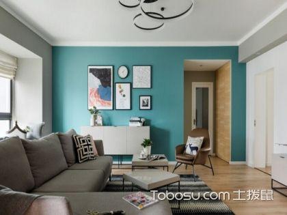 2017年美式装修新典范,厦门90平米房装修费用只要10万元