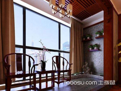 中式阳台装修,人与大自然交流的窗口