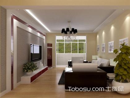 客厅影视墙装修,客厅中的第一焦点