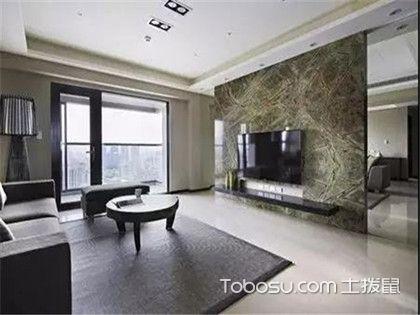 客厅石材背景墙装修设计,四大方法为您家增光添彩!