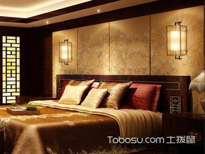 中式床头壁灯装修要点,给卧室增添一抹古典雅韵