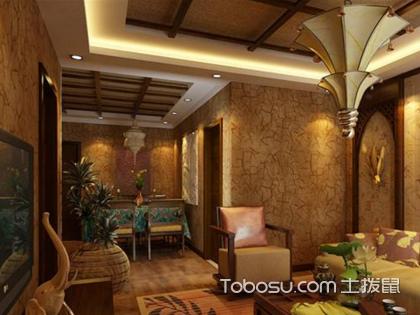 东南亚风格客厅装修 异域风情之美