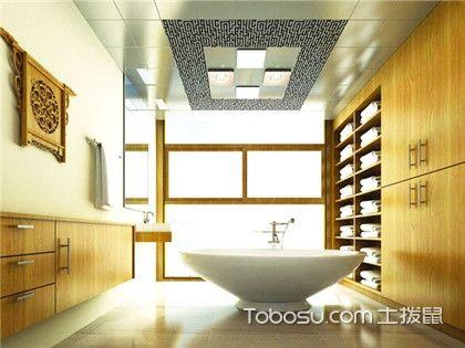 卫生间吊顶怎么选择?防水设计、材料挑选和颜色搭配最为重要