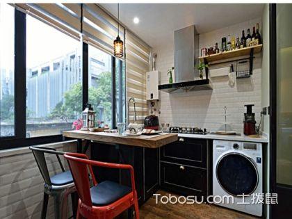 阳台厨房装修效果图,阳台改厨房注意事项大揭秘