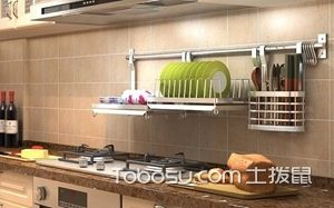 厨房挂杆图片