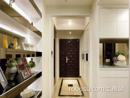 玄关装修如何装修才能美美哒?门厅玄关装修效果图精选合集
