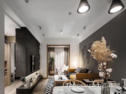 兰州65平米房装修费用案例,亲切和奢华你更中意哪种装修风格呢?
