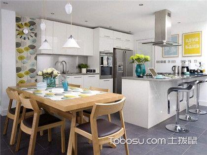 想要厨房多点生活情调,开放式厨房装修设计满足你!