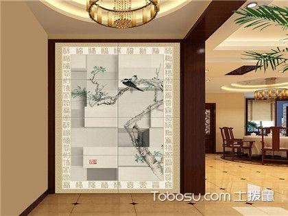 最受欢迎的客厅过道背景墙设计要点,让你回首间都在赏风景!