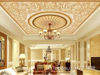 经典豪华的别墅吊顶效果图,教你怎样打造高大上的别墅客厅吊顶!