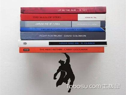书房隐形书架如何设计?小户型的最爱CD架又该怎么装修?