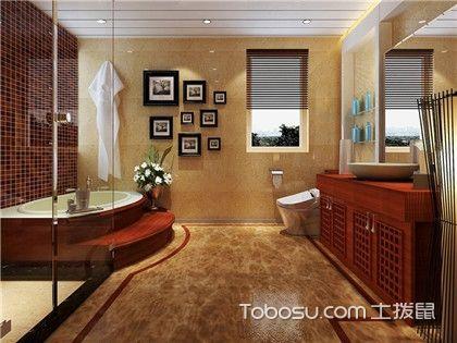 卫生间装修效果图分享,还你一个整洁干净的卫生间