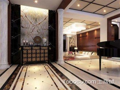 高大上的别墅装修效果图欣赏,教你别墅玄关如何设计!
