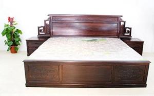 【红木大床】红木大床特点,红木大床保养,怎么选,图片
