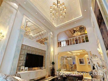 别墅客厅装修效果图,别墅客厅挑空设计欣赏