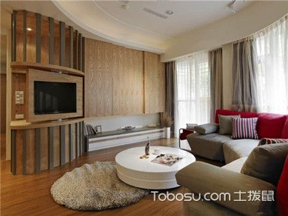最新家庭装修电视背景墙效果图,不愧是2017客厅装修的首选设计!