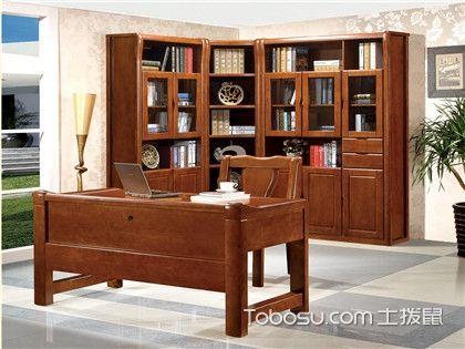 当书房遇上实木转角书柜,看如何空间七十二变