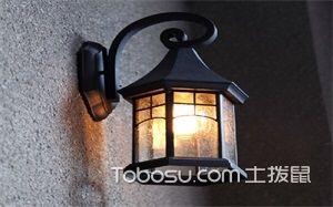 室外壁灯图片