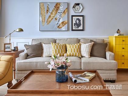 简美式装修风格案例:大连65平米房装修费用详解