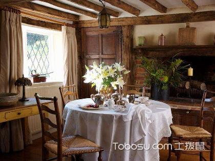 清新舒適鄉村自然風格,讓三室一廳裝修更動人