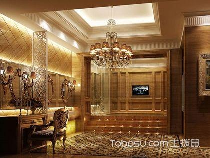 古典裝修風格家裝設計效果圖案例