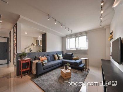 兰州90平米房装修费用案例简析,北欧风打造五彩斑斓的家居
