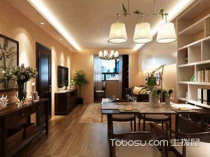 客厅餐厅一体房子装修效果图, 小户型客厅餐厅装修图片