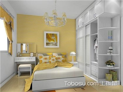 小户型卧室衣柜装修效果图集锦,这样的设计美观又省空间!