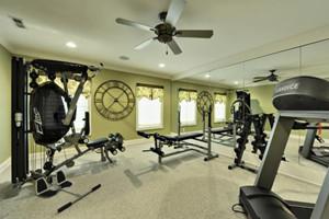 健身房镜子