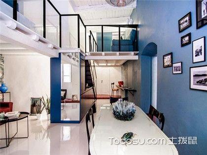 loft公寓装修设计,带你了解天津90平米房装修费用