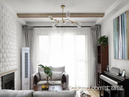 大户型经典北欧装修效果图,长春120平米房装修费用案例欣赏