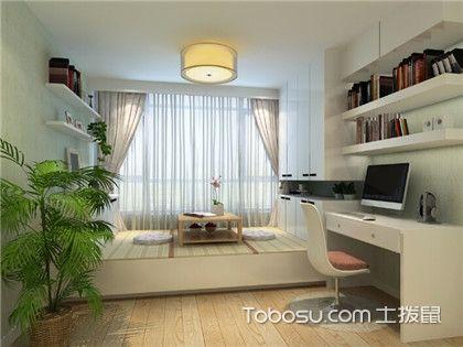 小户型卧室榻榻米装修效果图,拯救小空间的绝佳设计方案!